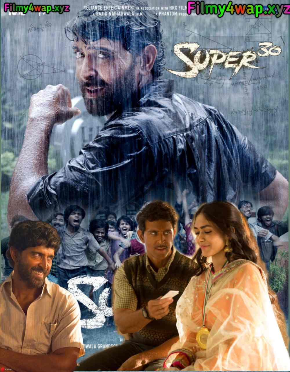 Super 30 (2019) New Bollywood full Movie 400MB 700MB And 1.4GB