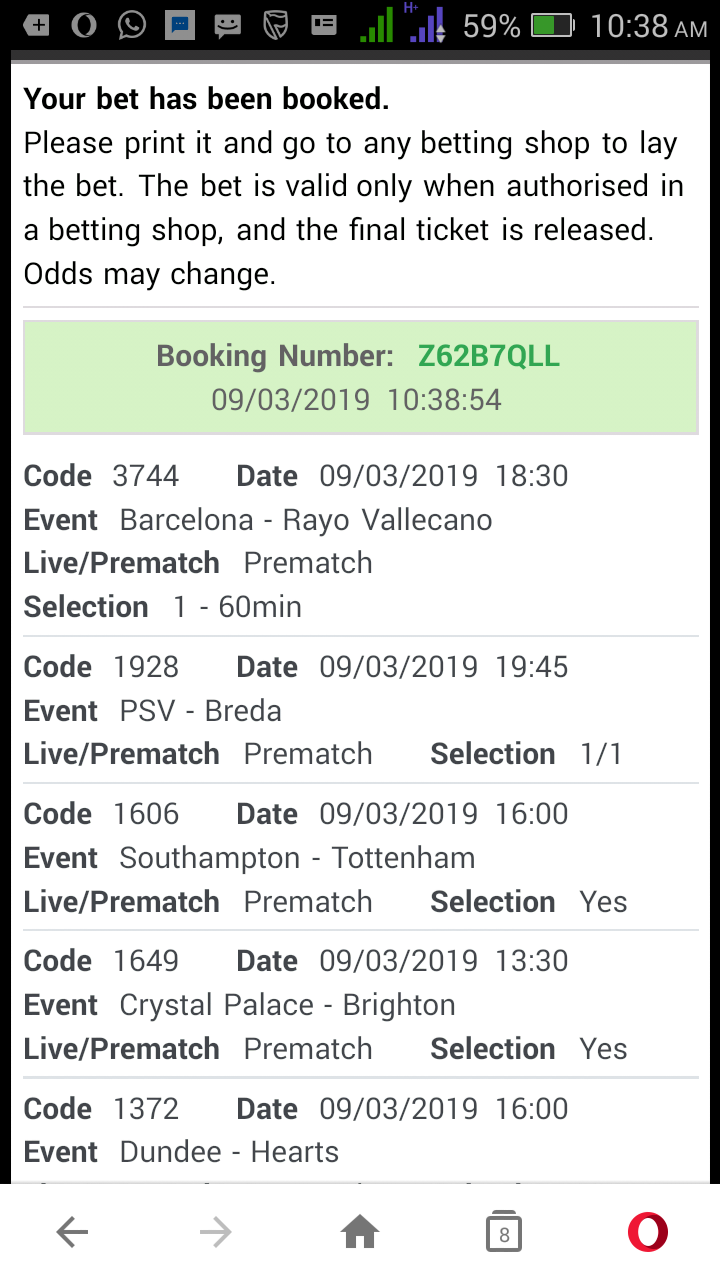 09-03-2019 Today saturday sure expert predict selections