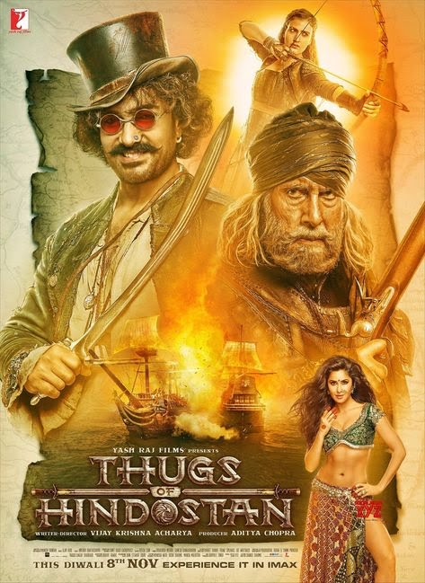 Thugs of Hindostan Hd Print 720p 480p Download