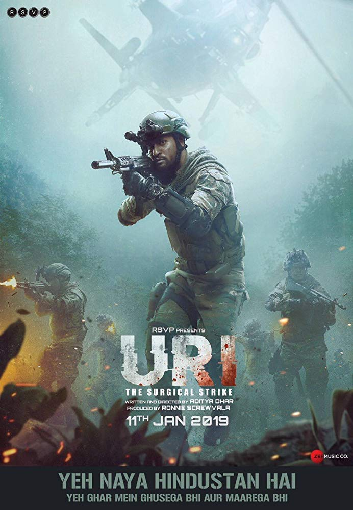 URI The Surgical Strike (2019) Hindi Movie 480p HD 400mb download