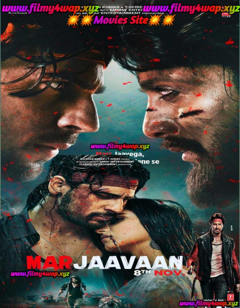 Marjaavaan (2019) New Bollywood Full Movie 400mb 700mb And 1.3GB Download