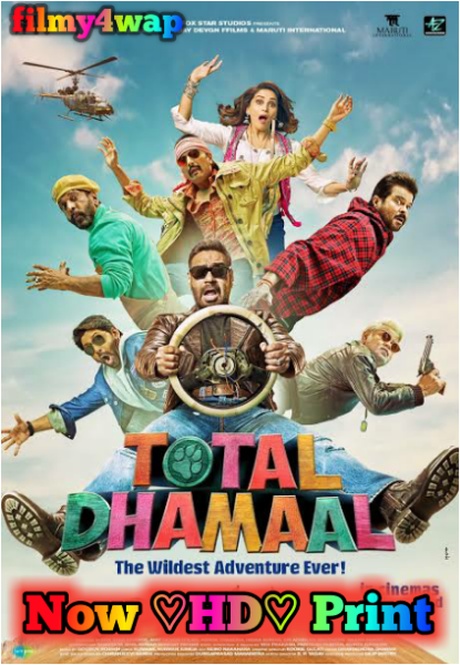 Total Dhamaal Full Movie ♡HDrip♡ Print 480p 720p mkv