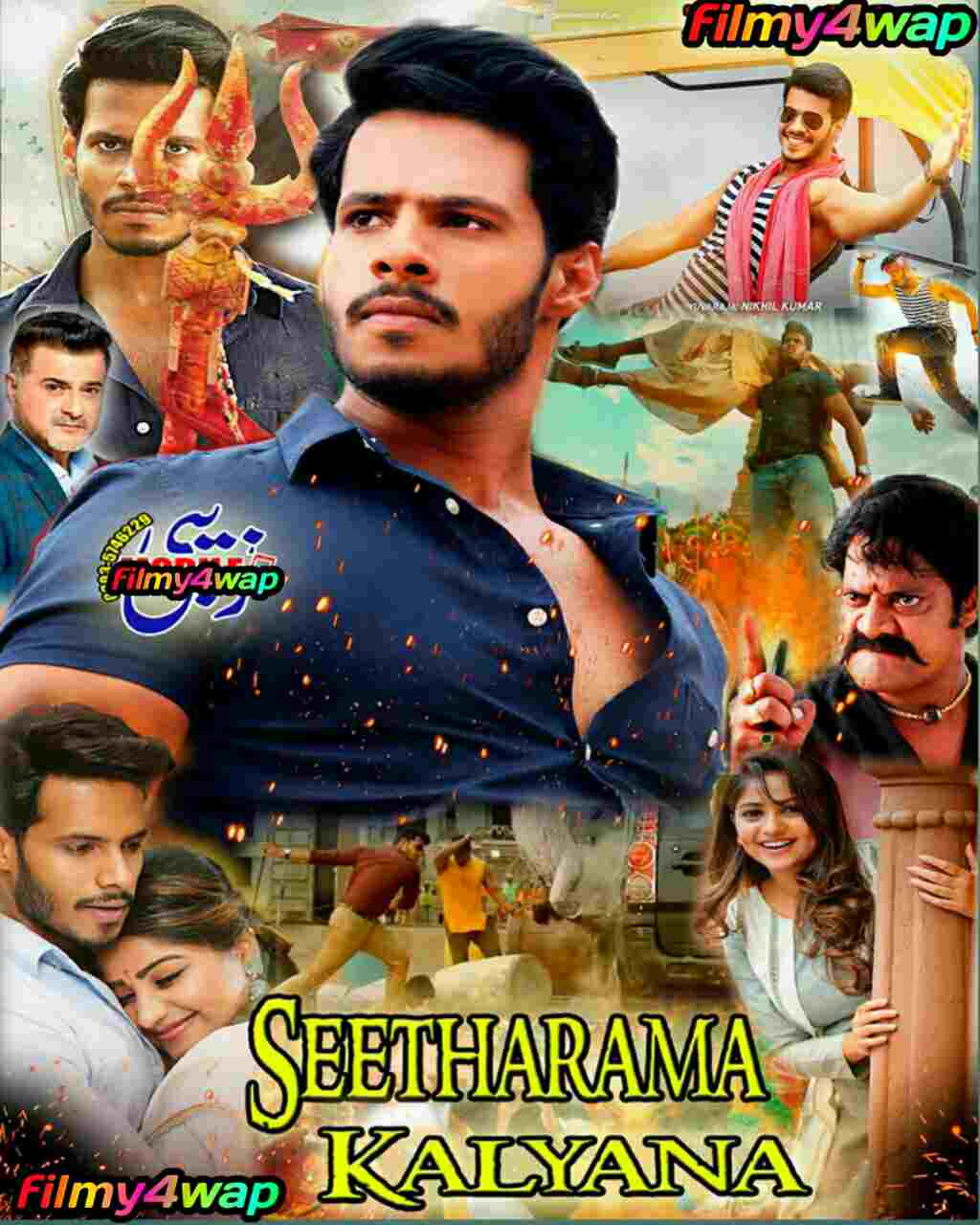 Seetharama Kalyana (2019) South hindi dubbed movie 480p