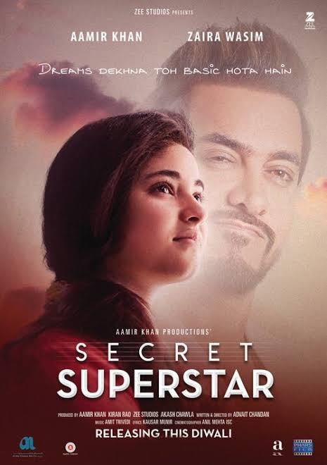 Secret Superstar (2017) Full Hindi Movie Download 480p HD