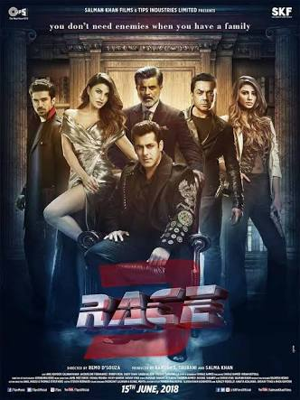 Race 3 (2018) Bollywood Hindi full Movie Download 480p HD