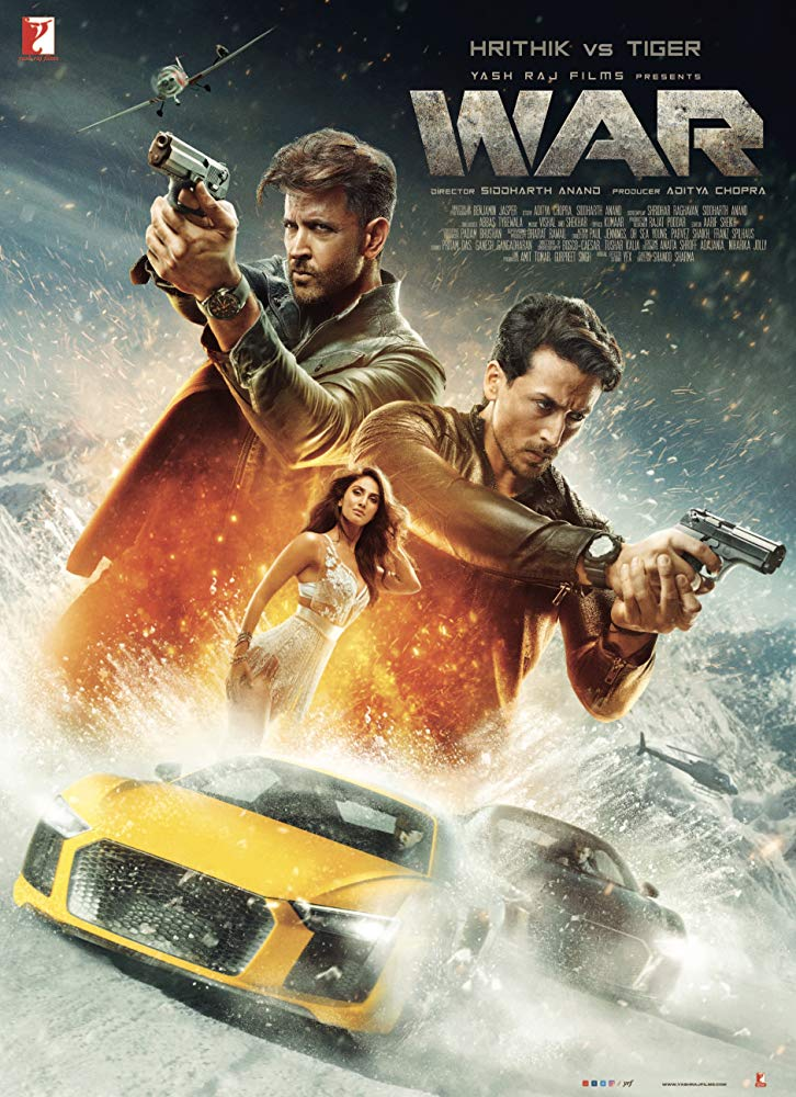 War (2019) Hindi Movie Official Trailer 480p 720p HDRip Download