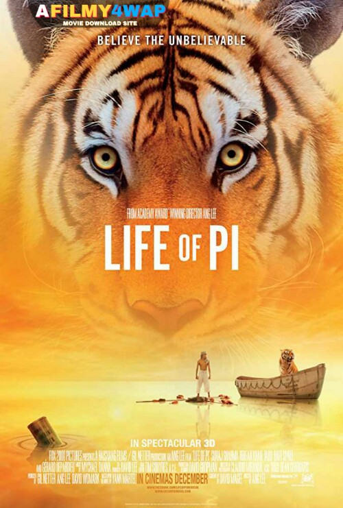 Life of Pi (2012) Dual Audio Hindi Dubbed Movie