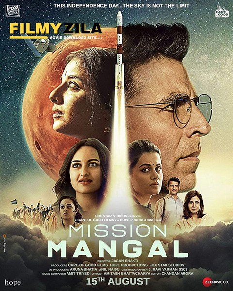 Mission Mangal (2019) Bollywood Full Movie 480p 720p HDRip