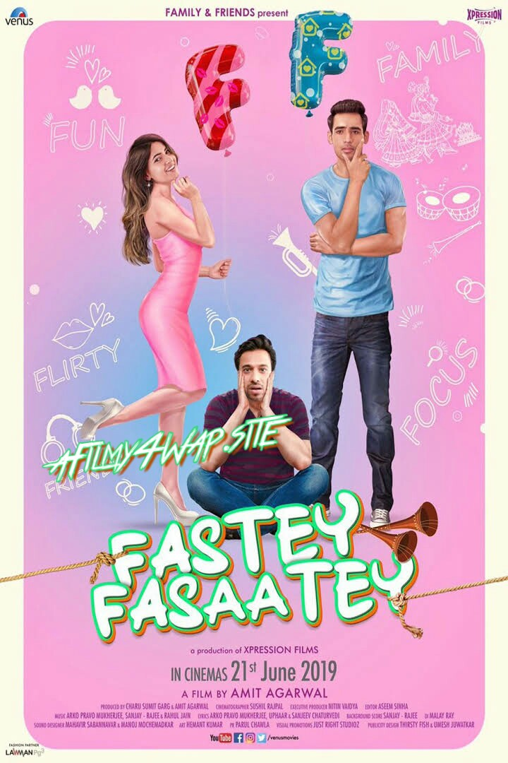 Fastey Fasaate (2019) Hindi Movie HDRip