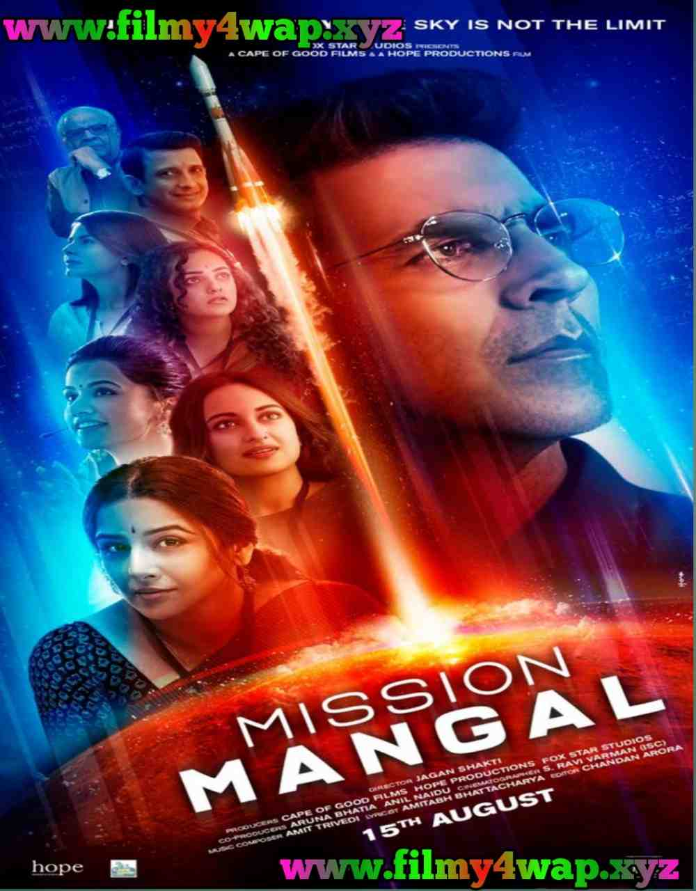 Mission Mangal (2019) Bollywood Full Movie 400MB 900MB
