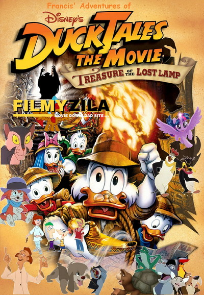 DuckTales the Movie Treasure of the Lost Lamp (1990) Hindi Dubbed Full Movie BluRay