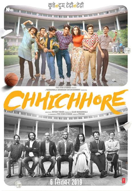 Chhichhore (2019) Bollywood Movie 480p 720p pDVDRip
