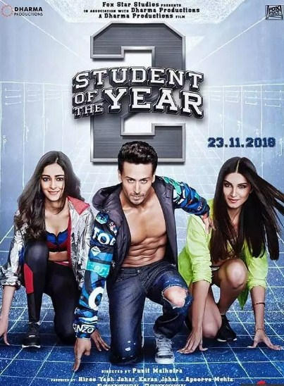 student of the year 2 (2019) Bollywood Full Movie 400MB 1.5GB Full HD