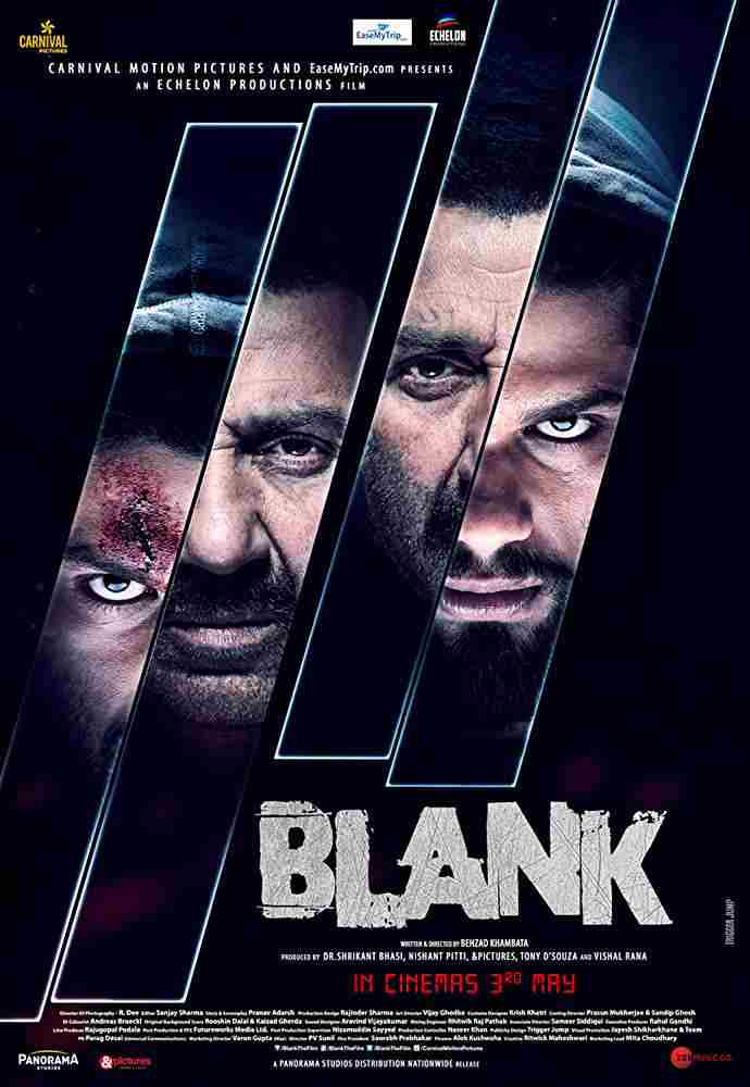 Blank 2019 Hindi 300MB 450MB HDRip 480p 720p HD