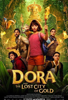 Dora and the Lost City of Gold (2019) English Movie HDRip