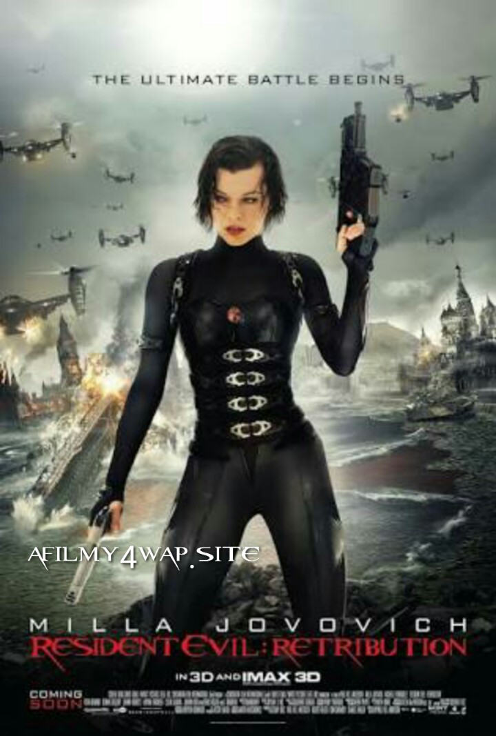 Resident Evil Retribution (2012) Dual Audio