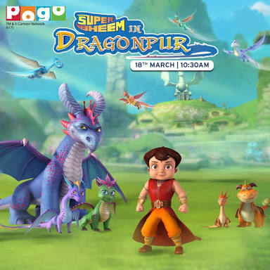 Super Bheem in Dragonpur (2018) Hindi Dubbed Cartoon Full Movie