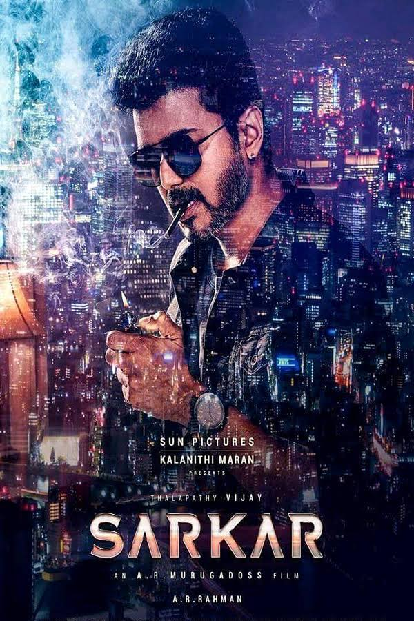 Sarkar (2018) Tamil 480p 720p HDTVRip 400MB 1.4GB Download