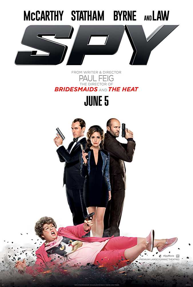 Spy (2015) Hindi Dubbed Movie Dual Audio Watch Online Free