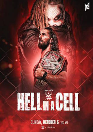 WWE Hell In A Cell 2019 PPV HDTV 480p 550MB 06 October 2019