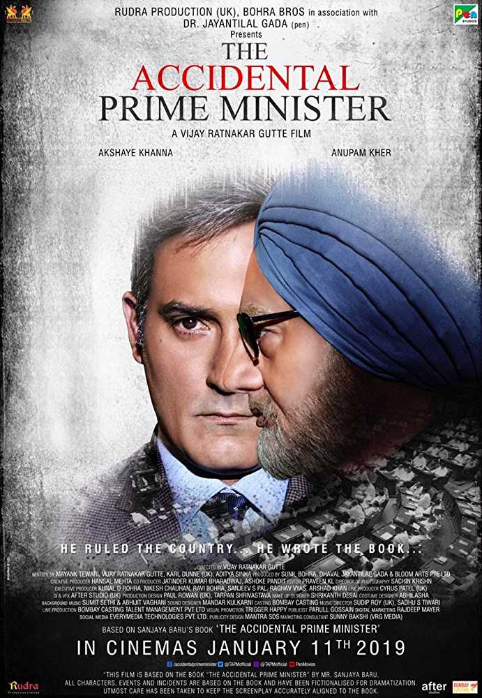 The Accidental Prime Minister (2019) PreDVDRip