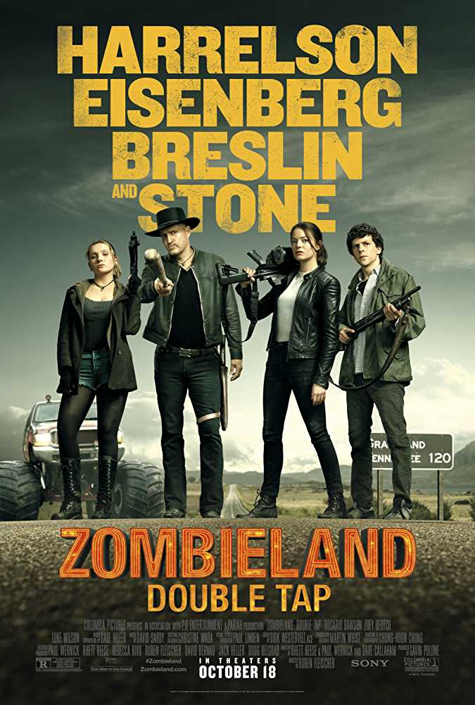 Zombieland: Double Tap (2019) English Movie Watch Online Free