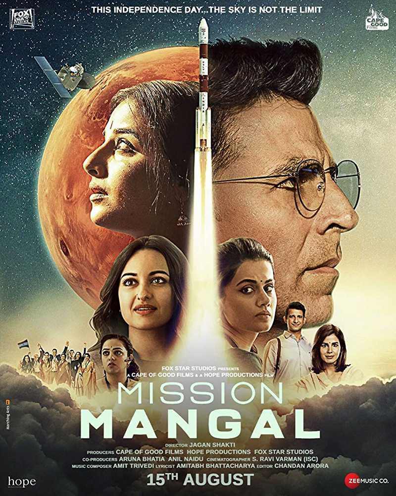 Mission Mangal (2019) Bollywood Full Hindi Movie Watch Online Free
