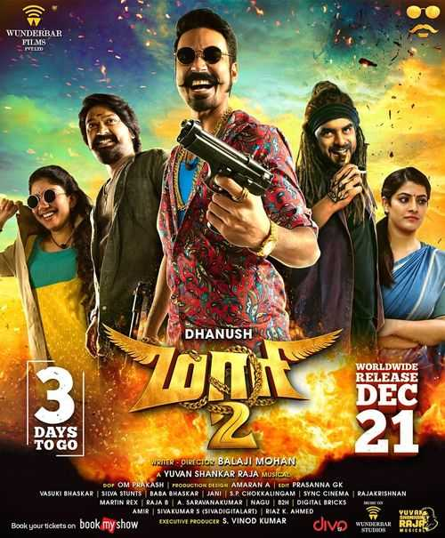 Maari 2 (2019) Official Hindi Dubbed Trailer