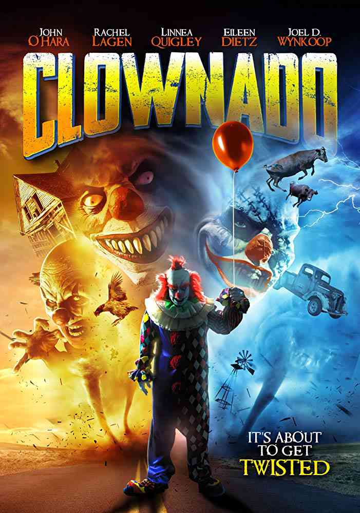 Clownado (2019) Hollywood Full Movie English HDRip