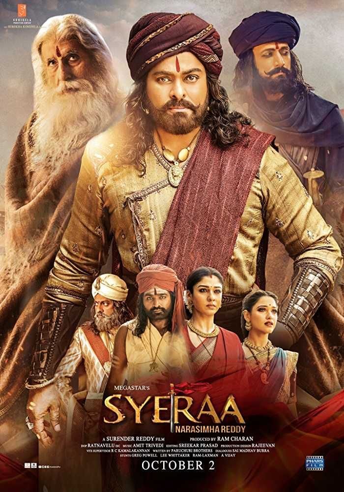 Sye Raa Narasimha Reddy (2019) Hindi Dubbed Movie Watch Online Free