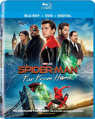 Spider Man: Far from Home 2019 Hindi ORG Dual Audio BluRay 480p 720p 1080p ESubs