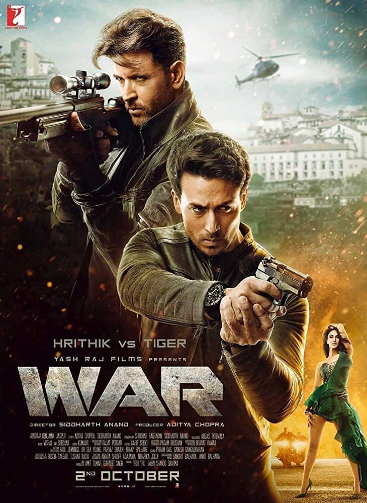 War (2019) Hindi Movie Watch Online Free