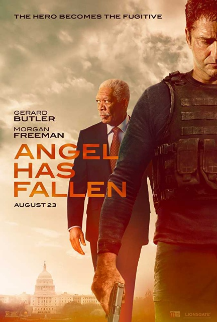Angel Has Fallen(2019) Hollywood English Free Download in HDCam 720p
