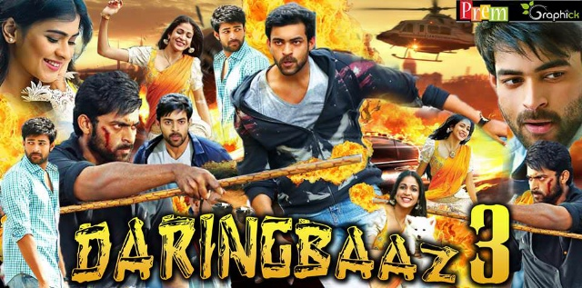 Daringbaaz 3 (2018) Hindi Dubbed Full Movie UNCUT