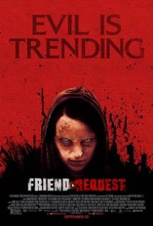 Friend Request (2016) Dual Audio Hindi Dubbed Movie