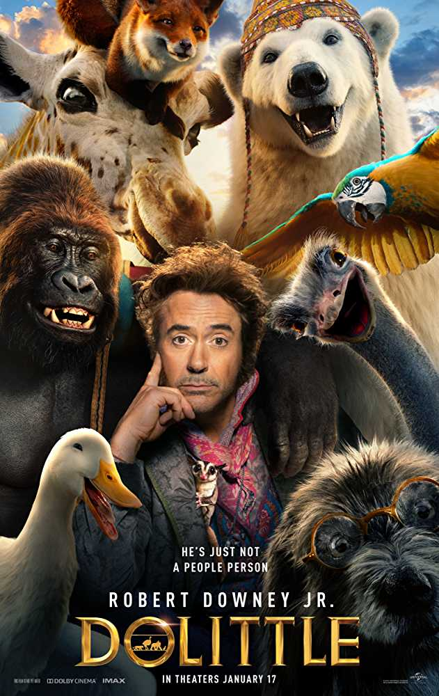 Dolittle (2020) English Movie Official Trailer Watch Online Free