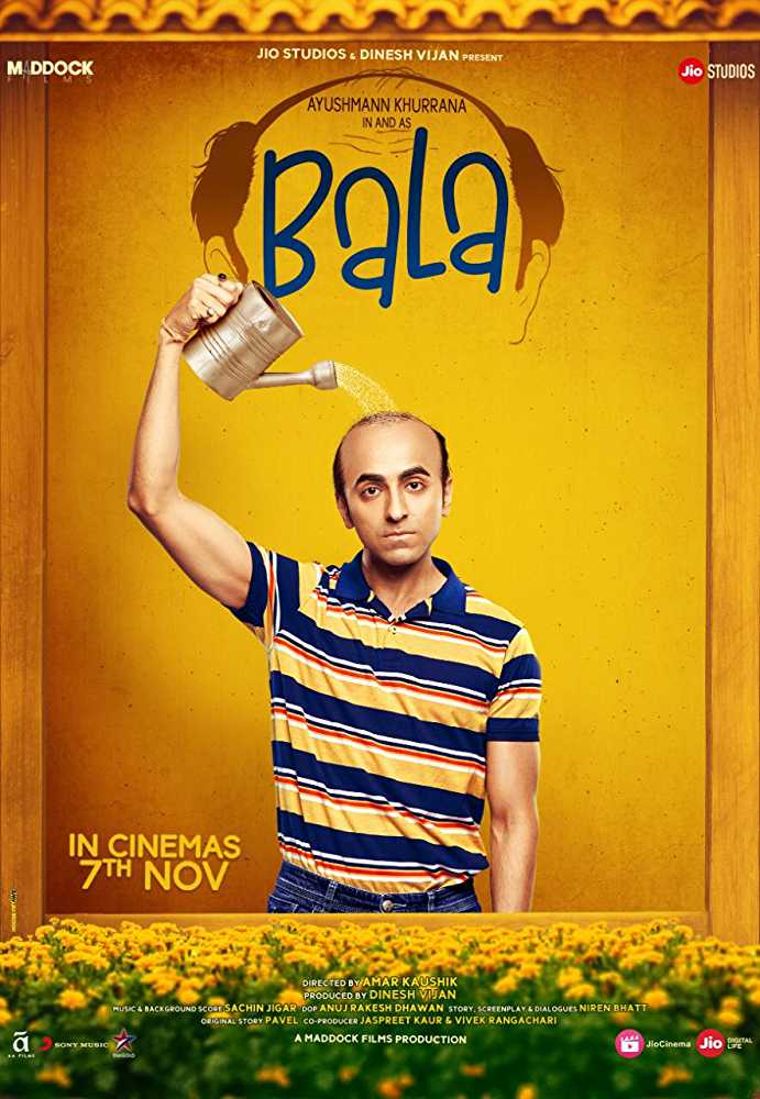 Bala (2019) Hindi Movie Official Trailer Watch Online Free