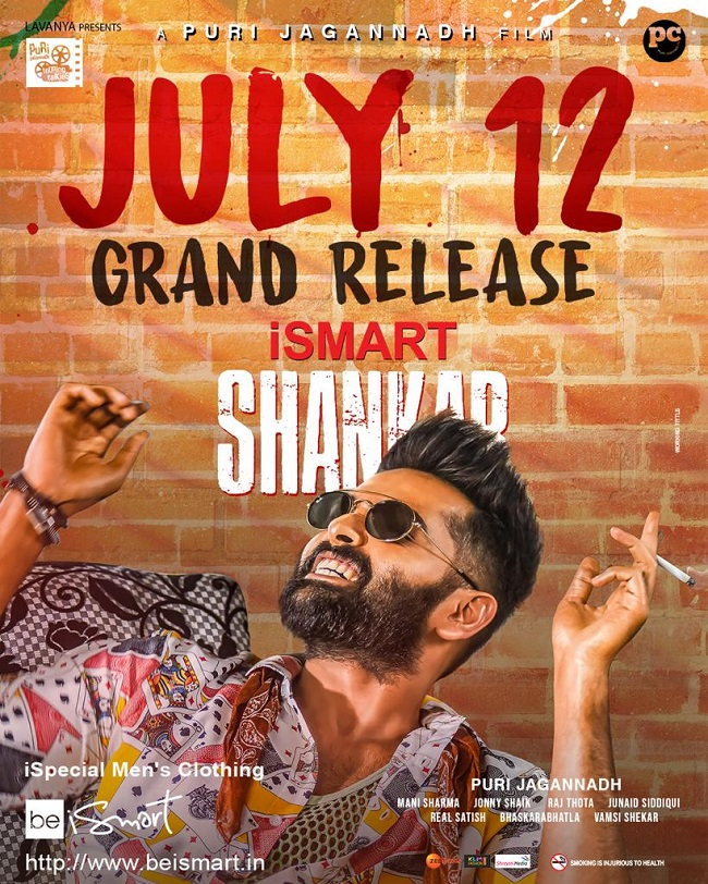 iSmart Shankar (2019) Telugu Movie 480p 720p Full HD