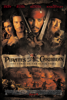 Pirates of the Caribbean (2003) 480p Hindi Dubbed