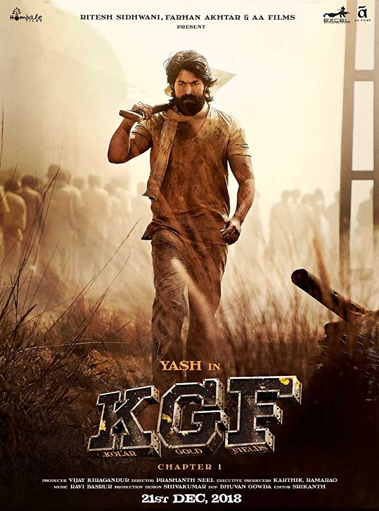 KGF Chapter 1 (2018) Hindi Dubbed Movie Download HD