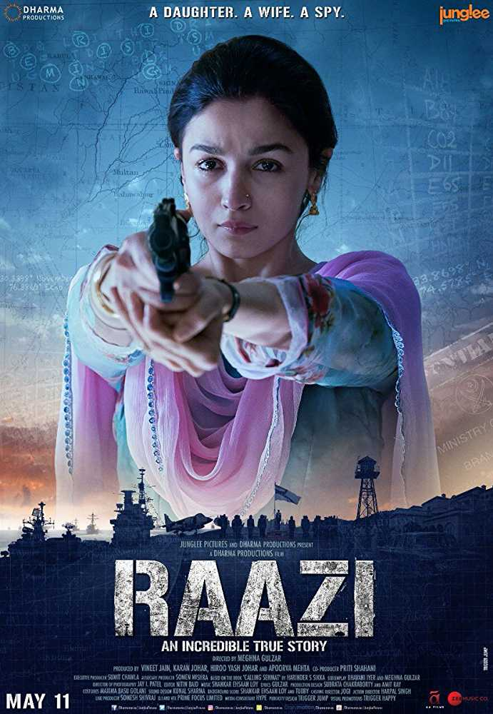Raazi 2018 Bollywood Full Movie HdRip