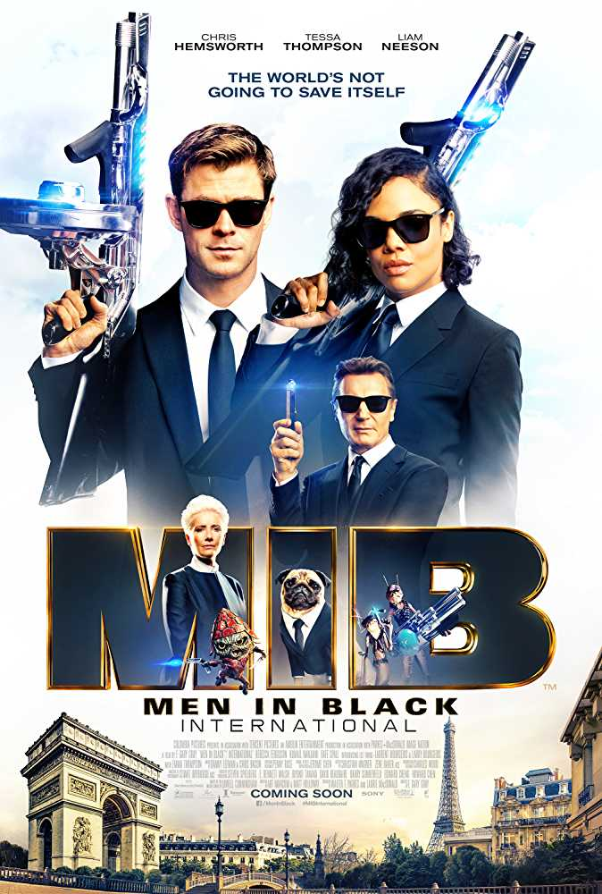 Men in Black: International (2019) Hindi Dubbed Movie Dual Audio Blu-ray Watch Online Free