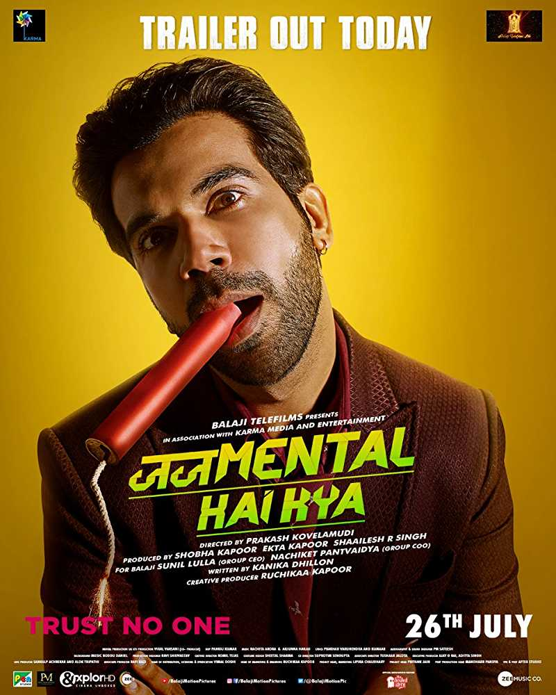 Judgementall Hai Kya (2019) Full Hindi Movie Watch Online Free