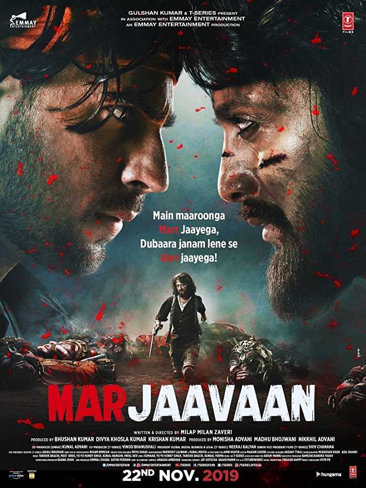 Marjaavaan (2019) Official Trailer Watch Online Free