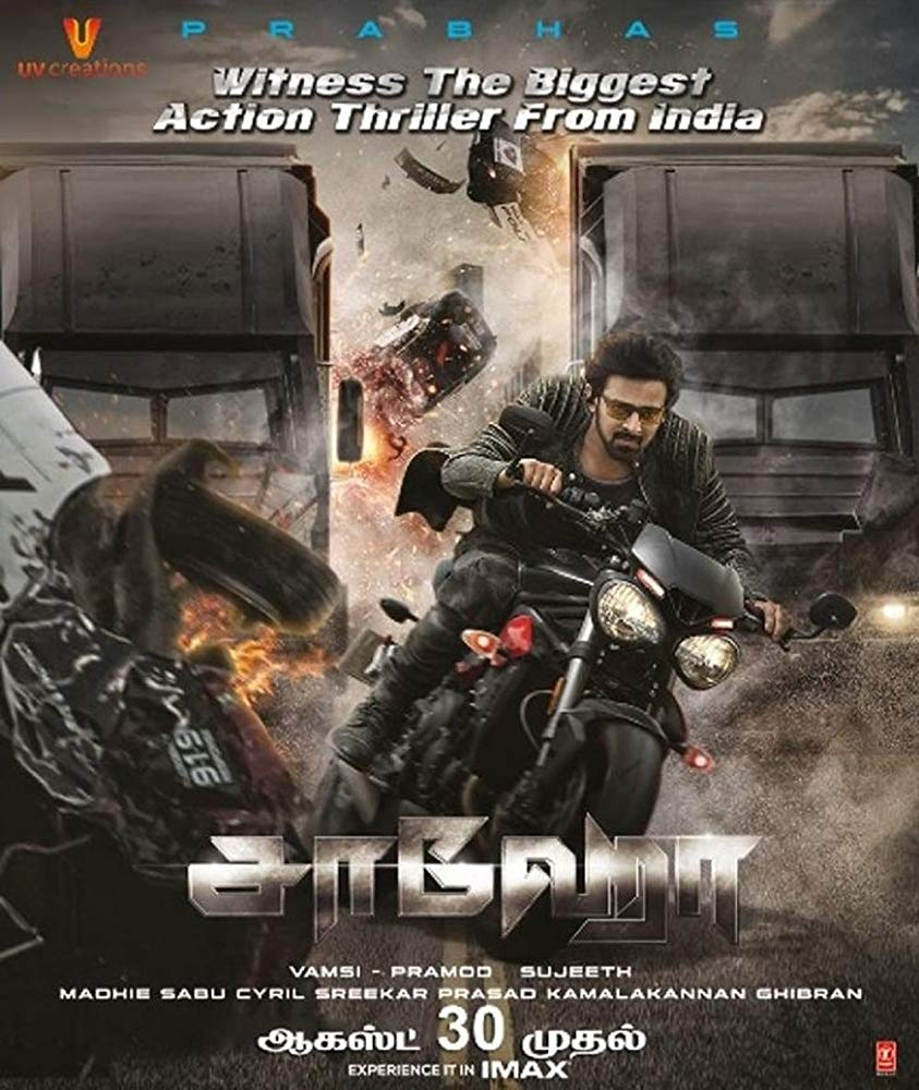 Saaho (2019) Telugu 480p 720p DVDScr 400MB 1.4GB Download