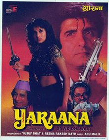 Yaraana (1995) Hindi Movie