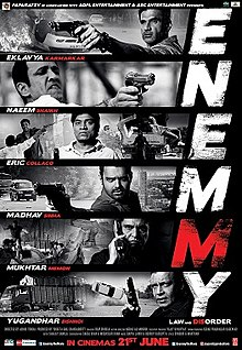 Enemmy (2013) Hindi Movie
