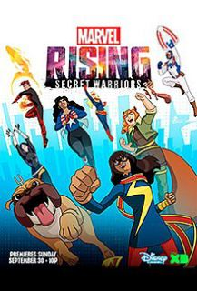 Marvel Rising Secret Warriors (2018) Hindi Dubbed
